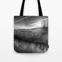 The Ambling River Sunset Tote Bag