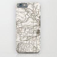 Dallas Map iPhone 6 Slim Case