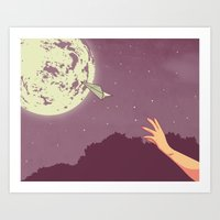 Everything's Alright Art Print
