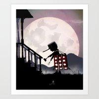 Dalek Kid Art Print