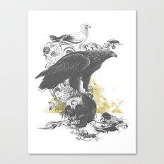 the watchers 3 B+W Canvas Print