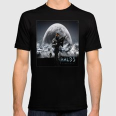 halo 5  , halo 5  games, halo 5  blanket, halo 5  duvet cover, halo 5  shower curtain,  Mens Fitted Tee Black SMALL