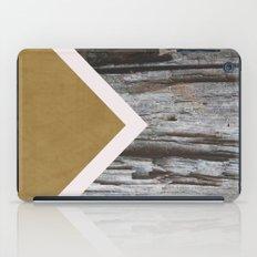 Wooded Chevron iPad Case