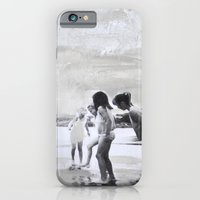 iPhone & iPod Case featuring The beach by Mrs Hardy