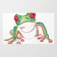 Froglet Rug