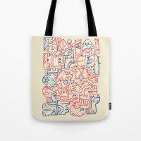 Tribal Animals Tote Bag