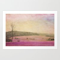 Fog Coming In Art Print