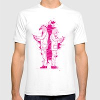 Artwork No.5 Mens Fitted Tee White SMALL