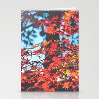 Lake Tahoe Leaves Stationery Cards
