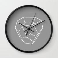 Tetrahedral Pentagonal Dodecahedron Wall Clock
