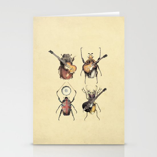Meet the Beetles Stationery Card