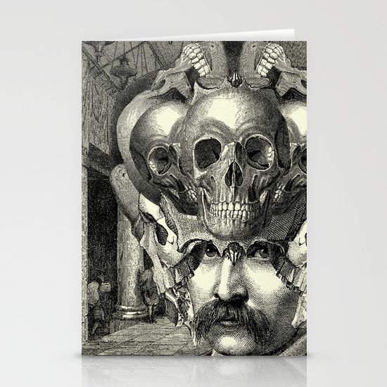 Lithography Stationery Card