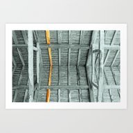 THE WHOLE ROOF AND NOTHI… Art Print