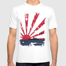 Imperial Japanese Navy White Mens Fitted Tee SMALL
