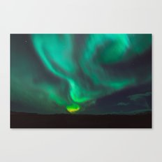 Northern Lights - Vik, Iceland Canvas Print