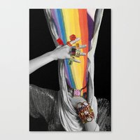 Photon Inertia Canvas Print