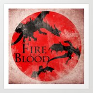 Game Of Thrones - House … Art Print