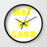 Not So Good Wall Clock