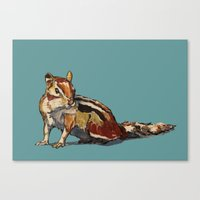 Chipmunk For You Canvas Print