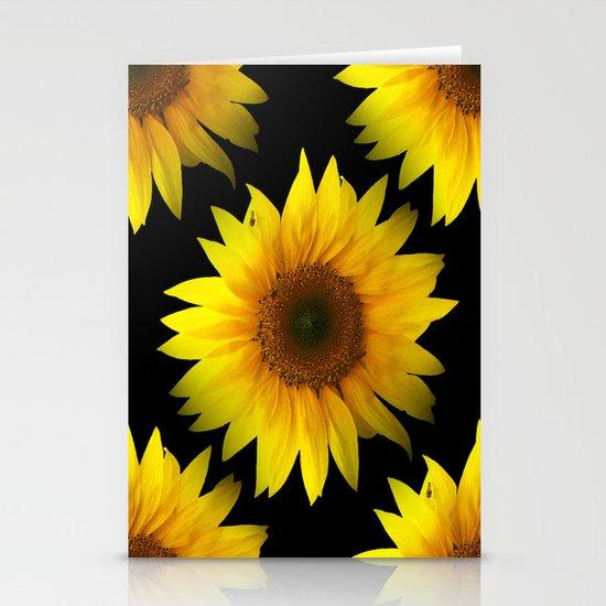 Sunflower Stationery Card