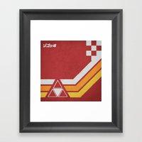 Cafe Racer (3 Of 4) Framed Art Print
