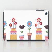 Floral Pots iPad Case