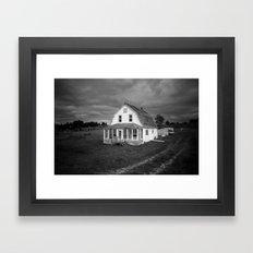 Old White House Framed Art Print