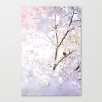 Water-colour Spring #2 Canvas Print