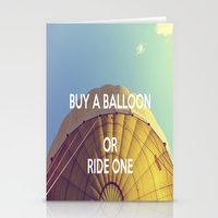 Buy A Balloon Stationery Cards