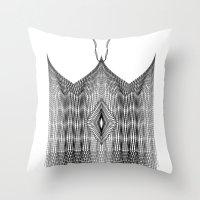 Spirobling XXIV - Knitte… Throw Pillow