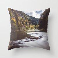 Dunajec River Throw Pillow
