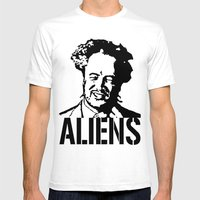 Giorgio A. Tsoukalos (The Alien Guy) Mens Fitted Tee White SMALL