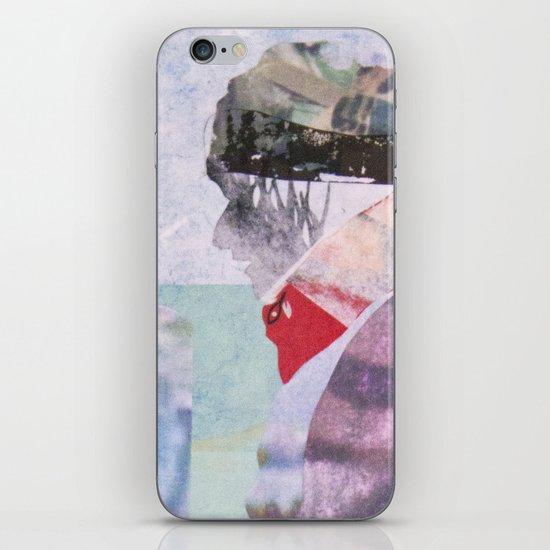 Precipice (detail) iPhone & iPod Skin