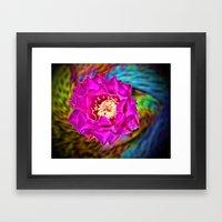 Wild Blossom Framed Art Print