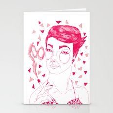Smoked Goggles Stationery Cards