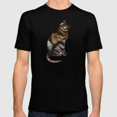 THE TIGER WITHIN Mens Fitted Tee SMALL Black