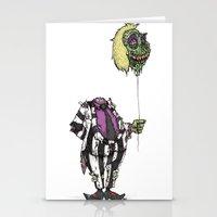 Zombie Juice Stationery Cards