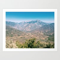 Kings Canyon Art Print