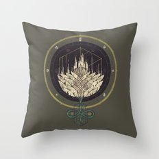 Fading Dahlia Throw Pillow