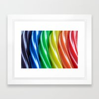 Licorice Twizzlers Framed Art Print