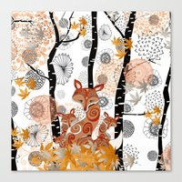 HELLO FOXY Canvas Print