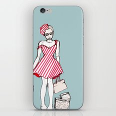 Frazzled Shopper iPhone & iPod Skin