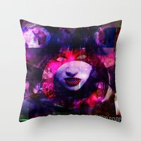 Atomic Lydia. Throw Pillow