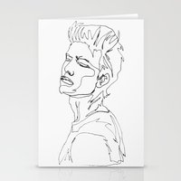 minimal drawing  Stationery Cards