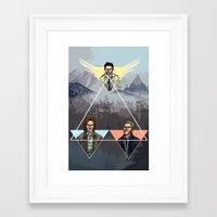 Carry On My Wayward Son Framed Art Print