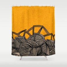 - barricades - Shower Curtain