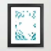 Tiles Framed Art Print