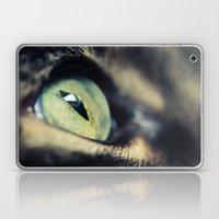 Green Iris Laptop & iPad Skin