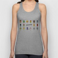 My MINIMAL ICE POPS univers III Unisex Tank Top