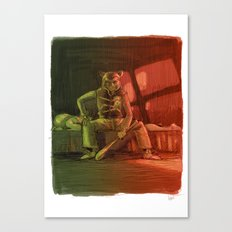 Hotline Baby Canvas Print